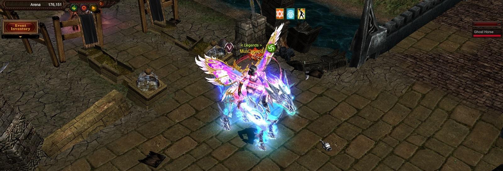 Ghost Horse MU Online